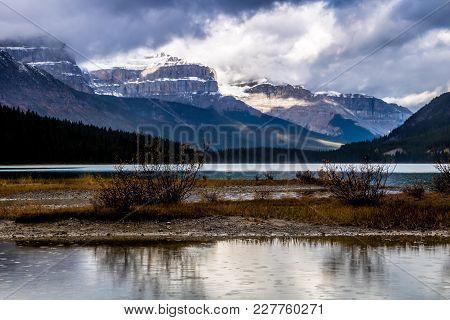 Waterfowl Lake, Banff National Park, Alberta, Canada