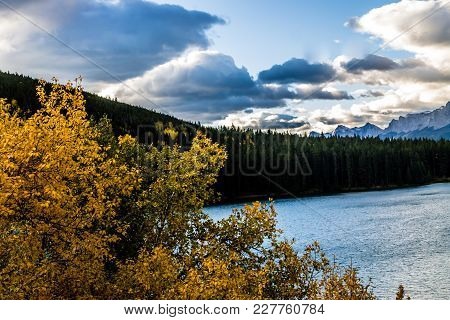Two Jacks Lake, Banff National Park, Alberta, Canada
