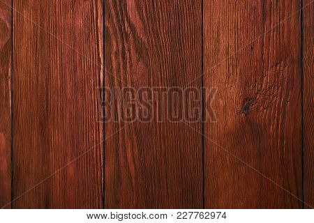 Old Natural Wood Surface Background Texture. Close Up Of Old Scratched Table, Wooden Plank Board Tex