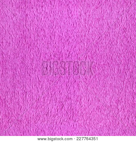 Tileable Bathrobe Pink Cotton With Fabric Background And Texture.
