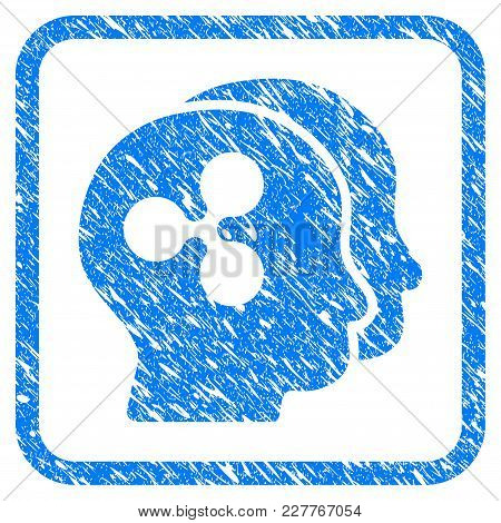 Ripple Businessmen Rubber Seal Stamp Imitation. Icon Vector Symbol With Grunge Design And Unclean Te