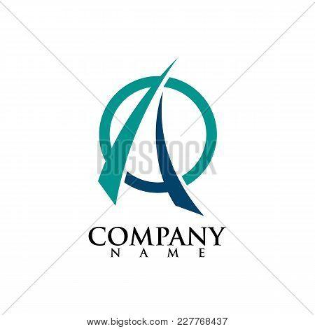 A Letter Logo Design Vector Illustration Template, A Letter Logo Vector, Letter A And I Logo Vector,