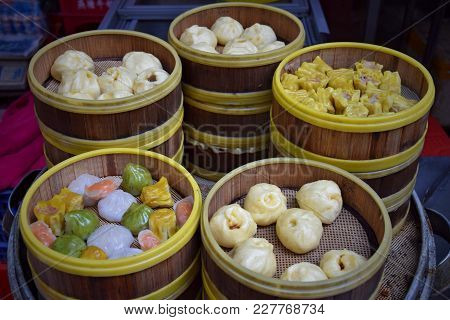 Dim Sum Is A Style Of Chinese Cuisine (particularly Cantonese) Prepared As Small Bite-size Portions
