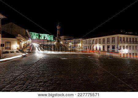 Tiradentes Square - Ouro Preto, Minas Gerais, Brazil