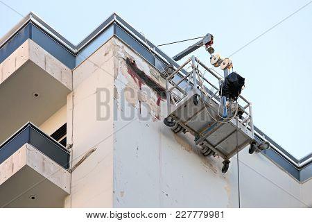 Suspended Scaffold Platform For High Building Works
