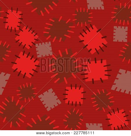 3032260 Seamless Pattern In Color Patches.