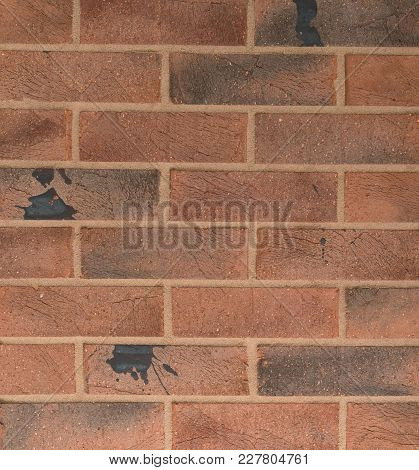 Red Brick Wall Texture For Home Architecture