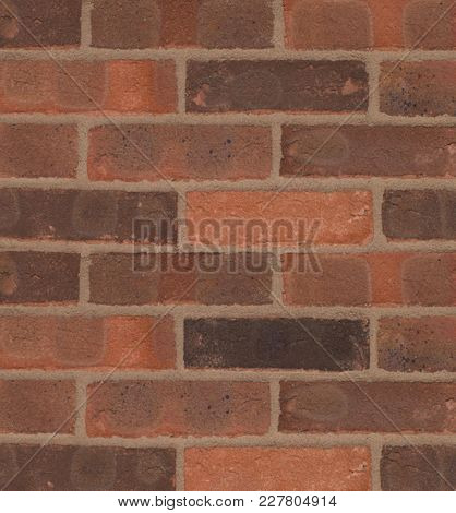 Red Brick Wall Texture For Home Decoration