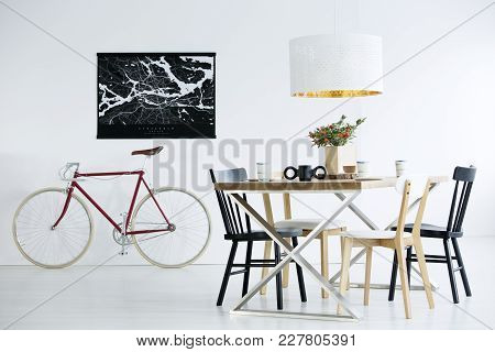 Bike In Dining Room