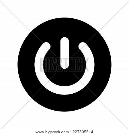 Power Button Icon Vector Photo Free Trial Bigstock