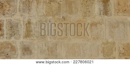 Old Yellow Background Stone Ideal As A Texture