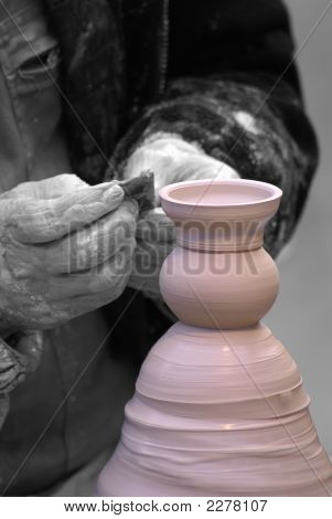 Black & White Potter.