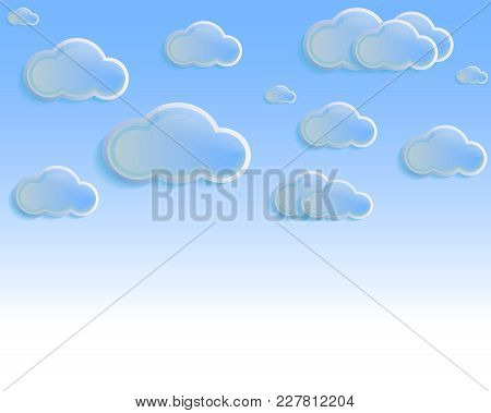 Slouds In The Blue Sky, Patten, Illustration