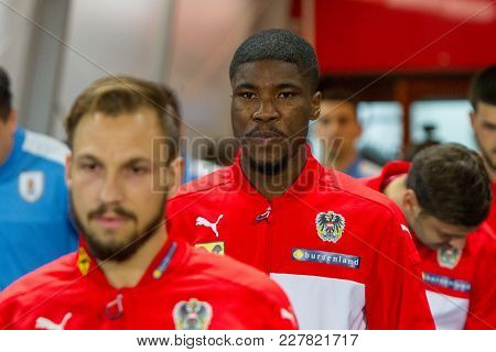 Vienna, Austria, 2017/11/14:  Kevin Danso At Friendly International Soccer Match Austria Vs Urugauy