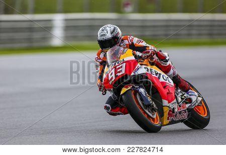 Marc Marquez Of Spain And Repsol Honda Team