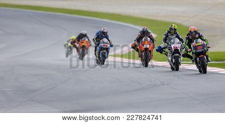 Michael Van Der Mark Of Netherlands And Monster Yamaha Tech 3