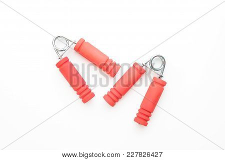 Hand Grip Strengthener Isolated On White Background
