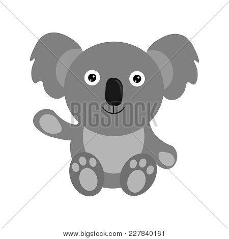 cute koala bear vector photo free trial bigstock