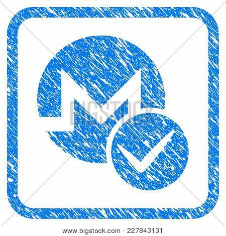 Valid Monero Rubber Seal Stamp Watermark. Icon Vector Symbol With Grunge Design And Corrosion Textur