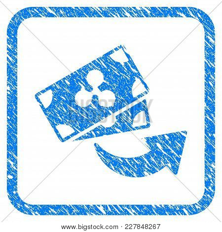 Send Ripple Banknotes Rubber Seal Stamp Imitation. Icon Vector Symbol With Grunge Design And Corrosi