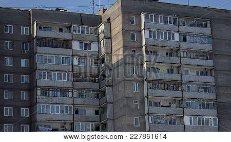 Apartment Buildings. Contemporary Architecture. Multistory Building. Apartment Block. Housing Estate