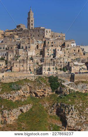 Matera Village. Unesco World Heritage Site, Italy