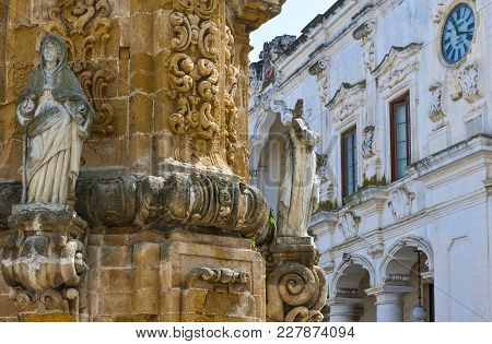 The Baroque Architectures In The Town Of Nardò