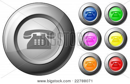 Sphere Button Telephone