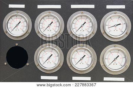 Measurement Of Machine With Seven Instrument Grade