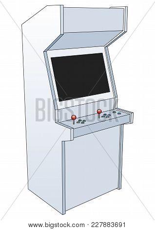 Classic Arcade Game Machine