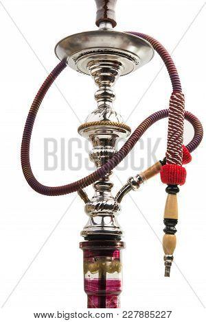Arabian Deluxe Hookah Isolated On White Background