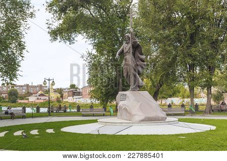 Kharkov, Ukraine - September 6, 2017: It Is A Monument To The Apostle Andrew The First-called In The