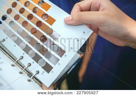 Solid Color Chart For Education Of Soild Color Variation