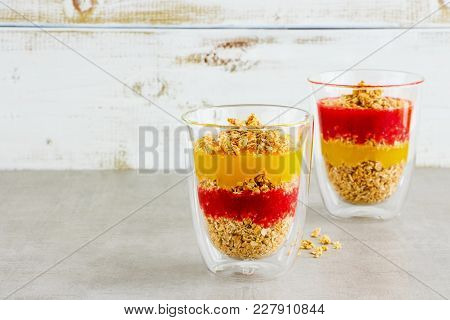 Vegan Breakfast Jars