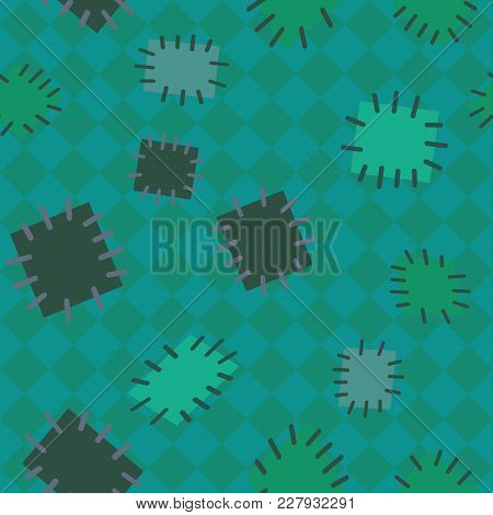 2952834 Seamless Pattern In Color Patches.
