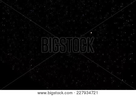 Photo Picture Starry Night Sky With A Ot Of Stars Background
