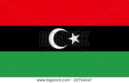 New Flag Of Libya (2011)