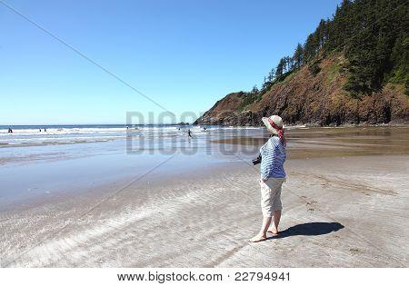 Indian Beach Ecola State Park, Oregon Coast.