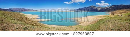 Panorama Of The Bartogai Reservoir, Assy Mountain Plateau. Kazakhstan.