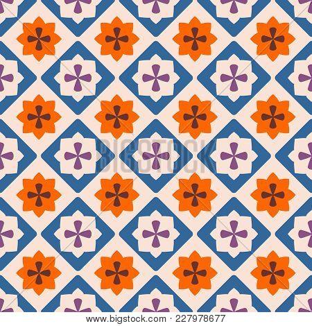 Tile Decorative Floor Tiles Vector Pattern Or Seamless Decoration Wallpaper