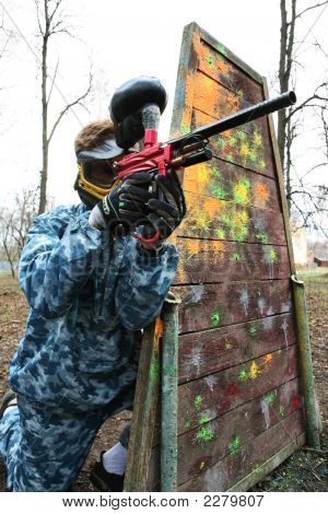 Game In A Paintball
