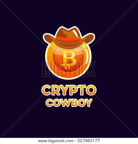 Bitcoin Cryptocurrency Coin, Icon Of Virtual Currency. Crypto Currency Golden Coin Bitcoin Symbol. B
