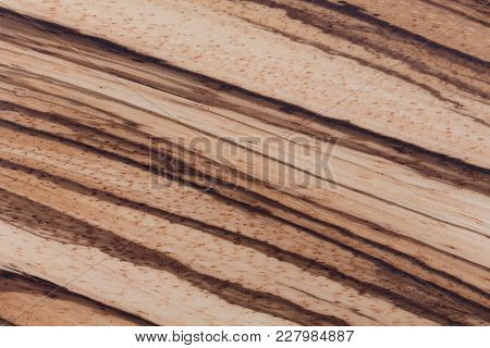 High Quality African Zebrano Wood Texture. Hi Res Photo.