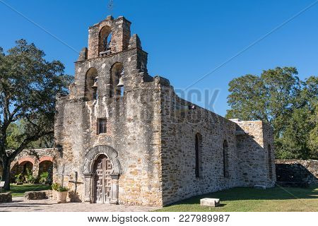 Mission Espada In San Antonio Missions National Historic Park, Texas