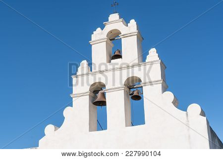 Mission Bells Of The San Juan Mission In San Antonio Missions National Historic Park, Texas
