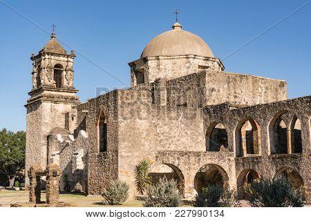 Mission San Jose In San Antonio Missions National Historic Park, Texas