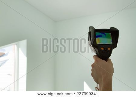 Thermal Image Of Heat Leak