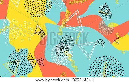 Halftone Red Wallpaper. Mustard Vector Design. Aqua Simple Drawing. Kinder Print. Baby Blue Minimal