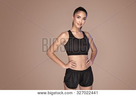 Fitness Sporty Woman. Healthy Lifestyle.