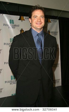 LOS ANGELES - JUN 14: Brendan Fraser at the Fulfillment Fund Awards on June 14, 2003 in Los Angeles, California